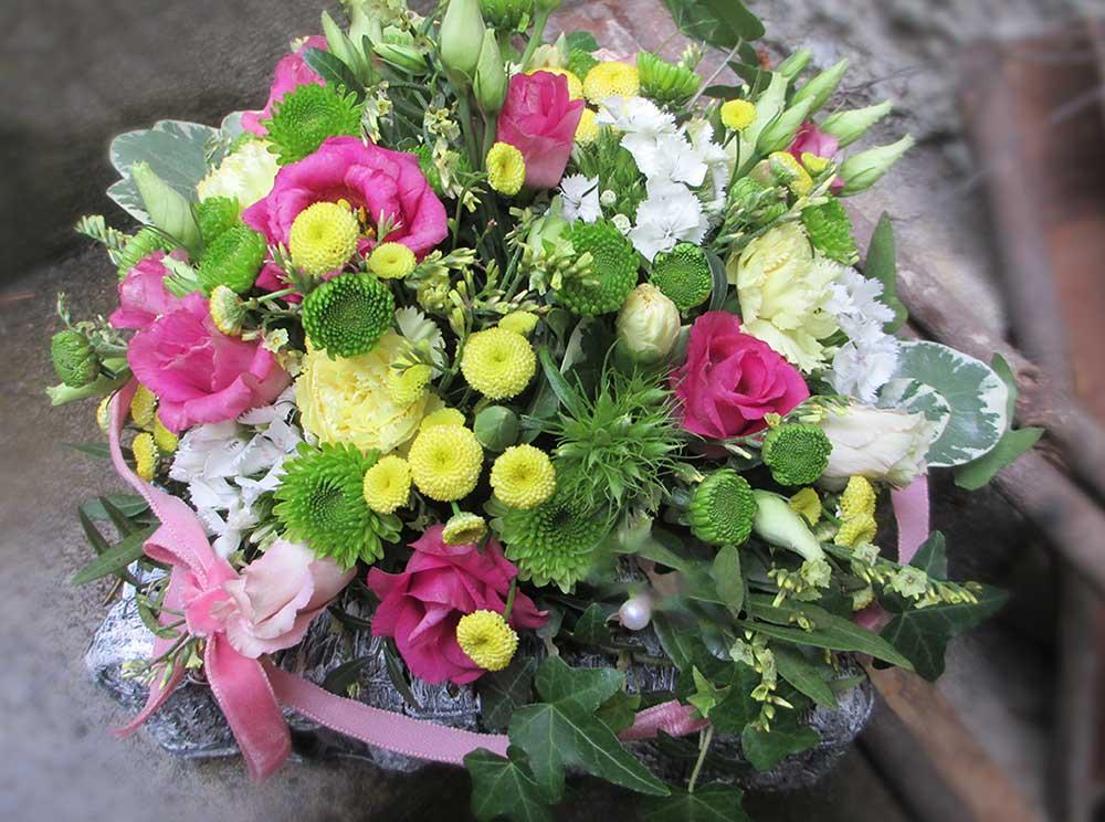 Blumen-Körbchen