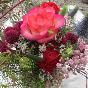 Kraftvoller Blumenstrauss