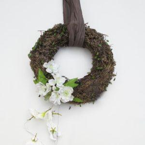 Trocken-Kranz und Stoffblumen von Blueme & Gschänk Chäller