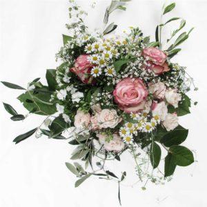 Wunderschöner, fröhlicher Strauss von Blueme & Gschänk Chäller